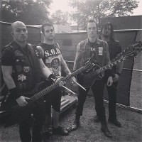 Moments before our set at Welcome to Rockville 4.27.2014